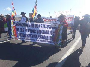 Desde Colchane hasta Iquique: Pueblos originarios marcharon por el reconocimiento en la constitución y contra el extractivismo minero en sus comunidades