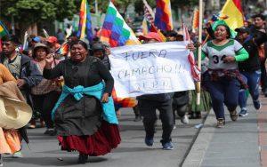 Desde Chile carta de apoyo a las luchas del pueblo boliviano