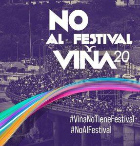 La Resistencia chilena apunta todos sus cañones al Festival de Viña del Mar / La consigna ya rueda por las redes #NoAlFestival
