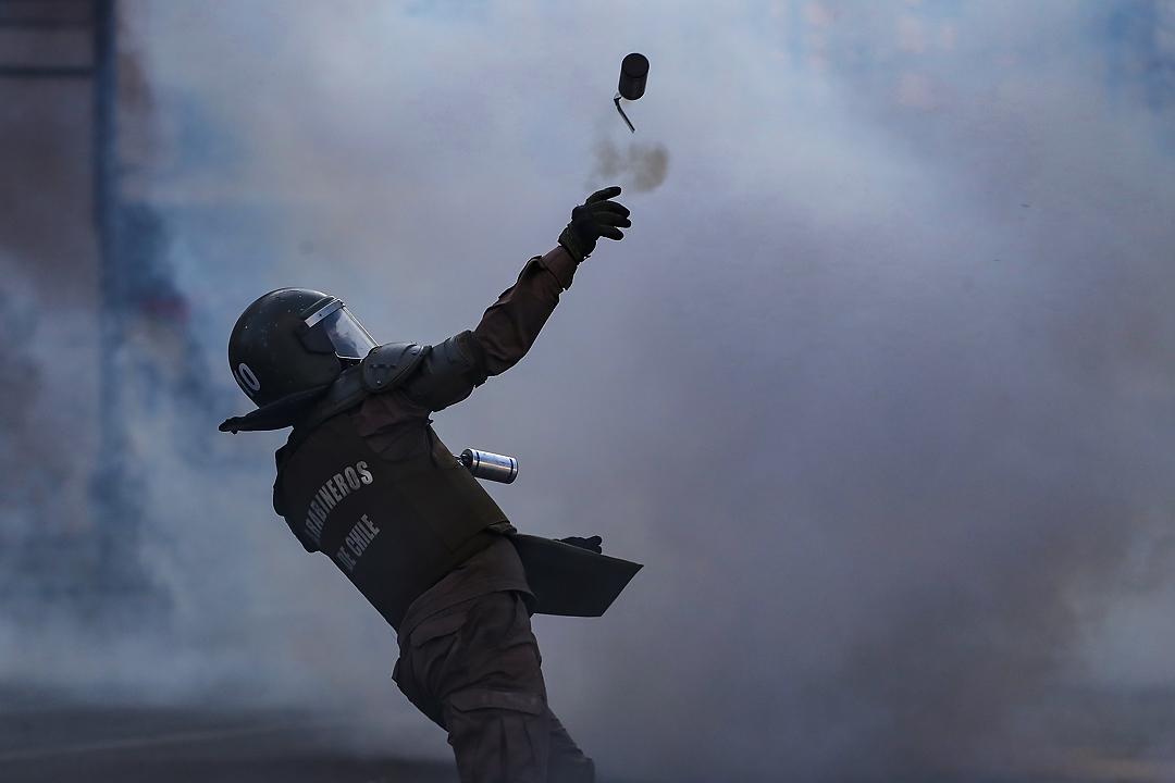 Protesta PSU en Valparaíso (Foto reportaje)