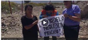 Pobladores se toman pozo de agua en Cabildo - San José (vídeos)