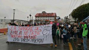 Nueva jornada de manifestaciones en Puerto Montt: Levantaron barricadas por menor herida