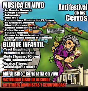 22 Y 23 de febrero en Viña del Mar continúa la Revuelta con un anti-festival y una protesta en el centro de la ciudad