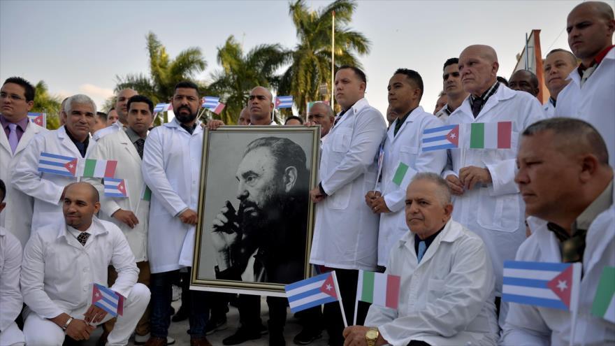 Cuba informa: Isla solidaria