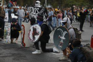 Protesta contra el festival de Viña del Mar en fotos