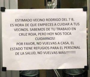 COVID-19: El Chileno egoísta neoliberal también existe