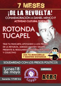 Arica. Mañana 18 de mayo recuerdan a Daniel Menco