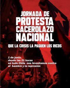 Noticias 31 de Mayo, cacerolazo este 1 de junio …..….escuche Radio El Rodriguista