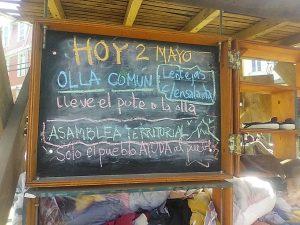 """Olla Común en el cerro cordillera Valparaíso, """"solo el pueblo ayuda al pueblo"""" (fotos)"""