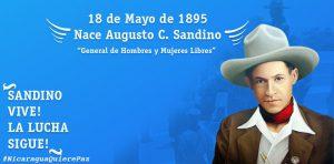 125 aniversario del natalicio del general Sandino
