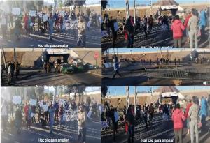 En Copiapó y Puente Alto protestaron hoy