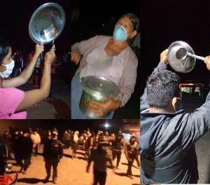 Bolivia: Masiva protesta con cacerolazos y petardazos contra  el gobierno de Jeanine Añez (vídeos)