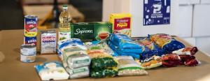 Las canastas de alimentos, publicidad y oportunidad de negocios para los mismos de siempre