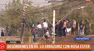 Noticias 22 de Mayo, siguen las protestas por el hambre en la zona sur de Santiago…..escuche Radio El Rodriguista