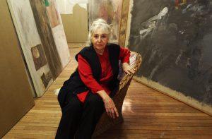 Este jueves y a los 92 años falleció la pintora Gracia Barrios, Premio Nacional de Artes Plásticas (2011)