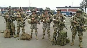 Infantes de Marina del extremo sur son trasladados  a Santiago para reforzar el control social