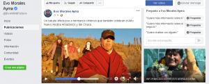 Evo Morales responde saludo de chilenos por año nuevo andino