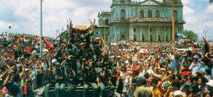 41 aniversario de la revolución popular sandinista