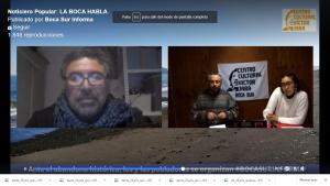Noticiero Popular La Boca habla: invitados la Coordinadora Popular Lagunilla