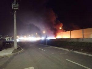 Anoche, barricadas en Coronel