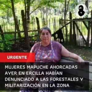 Un suicidio de dos mujeres mapuche que nadie se cree en Chile