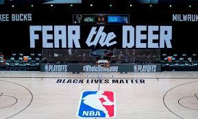 Los Bucks boicotean los playoffs en protesta por el tiroteo a un ciudadano afroamericano