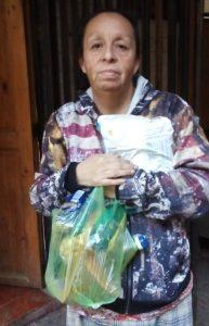 Melipilla: Segunda entrega de mercadería en la Padre Hurtado y llaman a protesta para el 11 de septiembre