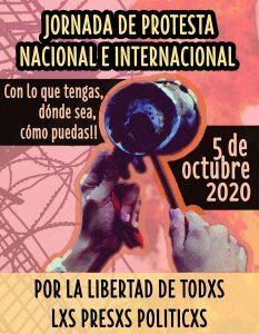 Noticias 20 de septiembre. Llaman a protesta nacional próximo 5 de octubre por la libertad de los P.P.; Desde el 2013 hubo 111 intentos de suicidio en el Ejército; Mas de 2 millones empleos perdidos……Escuche Radio El Rodriguista.