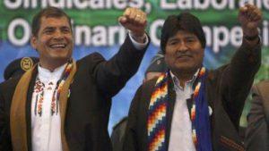 Argentina rechaza guerra jurídica contra Rafael Correa y Evo Morales