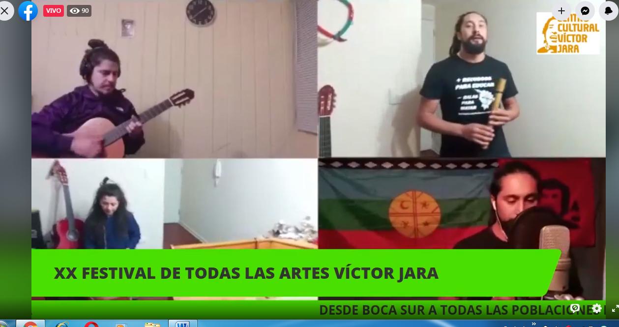 XX  Festival de Todas las Artes Víctor Jara en Boca Sur