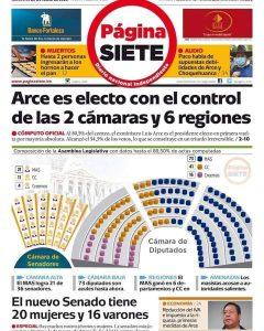 Bolivia: El MAS logra mayoría en el Senado y en la Cámara de Diputados