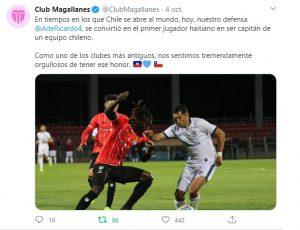 Integración: El haitiano Ricardo Ade hace historia con Magallanes