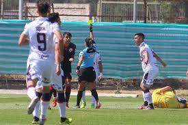 María Belén Carvajal, la primera árbitra que dirige un partido de fútbol profesional en Chile (Primera B)
