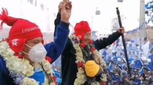 Bolivia: Multitudinarios actos en cierre de campaña del MAS (Vídeos)
