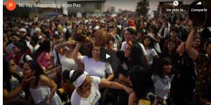 Arica: No hay derecho de vivir en paz