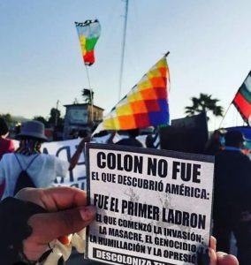 """12 octubre: Arica dice """" Colon fue el primer ladrón"""""""