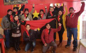Bolivia: Félix Cárdenas,  ex viceministro de descolonización, vuelve a reunirse con equipo del ministerio que se mantuvo trabajando en la clandestinidad
