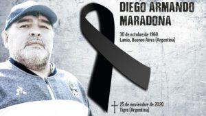 Latinoamérica: Alba Movimientos despide a Diego Maradona