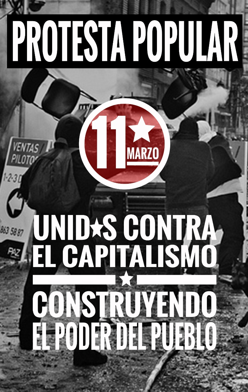 11 de Marzo Protesta Popular
