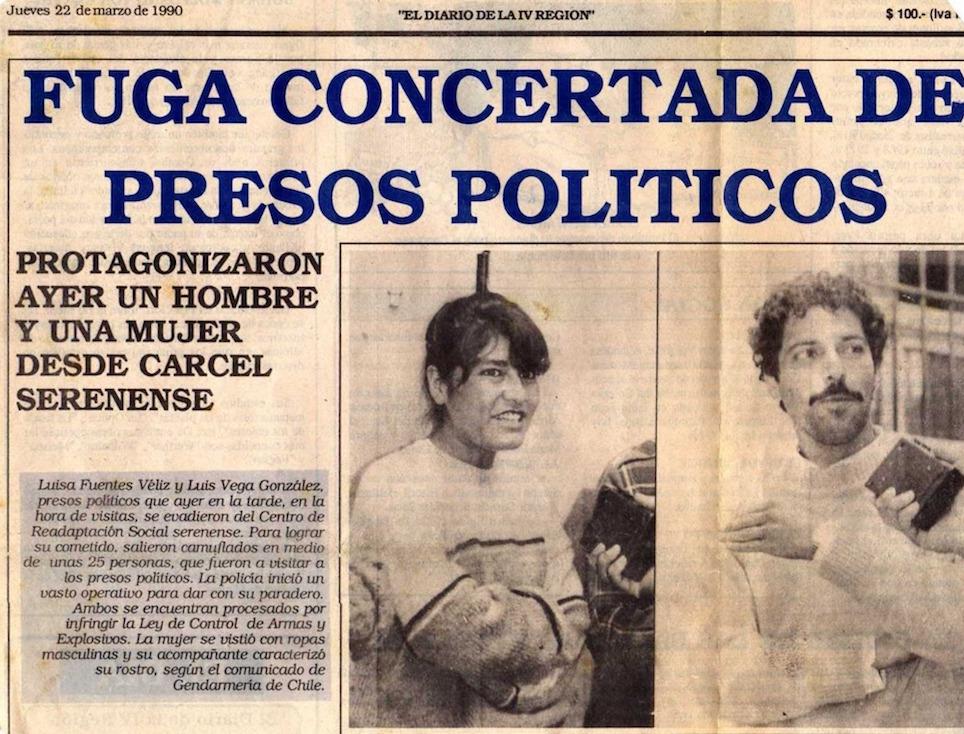 Fuga desde la cárcel de La Serena, 21 de marzo de 1990