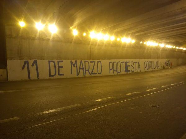 Protesta Popular: Fuera Piñera y la Casta Política.